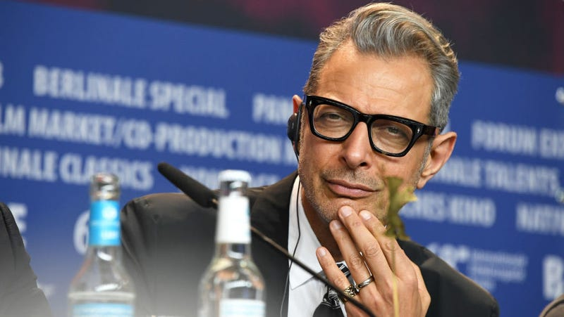 Illustration for article titled Here comes Jeff Goldblum to purr affectionately in your ear