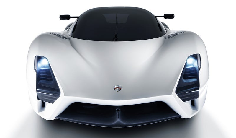 Illustration for article titled This Is The SSC Tuatara's 1350 Horsepower Twin-Turbo Powertrain