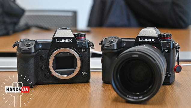 Panasonic s First Full-Frame Mirrorless Cameras Are Big Expensive Beasts
