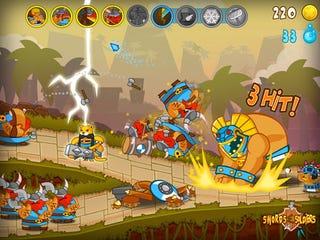 Illustration for article titled de Blob Devs Bringing Swords & Soldiers To WiiWare
