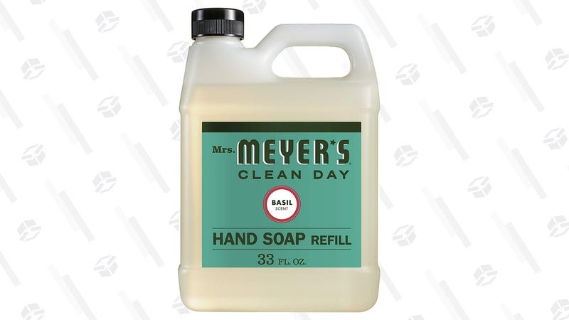 Mrs. Meyer's Liquid Hand Soap Refill, Basil, 33 fl oz | $5 | Amazon