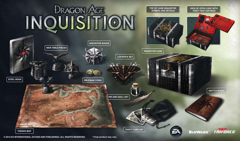 Illustration for article titled The Dragon Age: Inquisition Inquisitor's Edition is $169