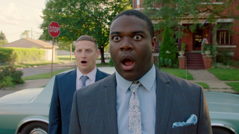 Tim Robinson (left) and Sam Richardson in Detroiters