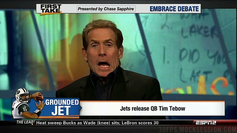 Illustration for article titled Skip Bayless: ESPN Held Me Back, My Fox Sports Takes Will Be Hotter