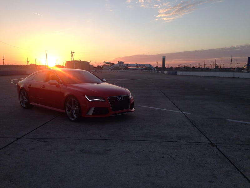 Illustration for article titled We Just Drove Sebring In An RS7