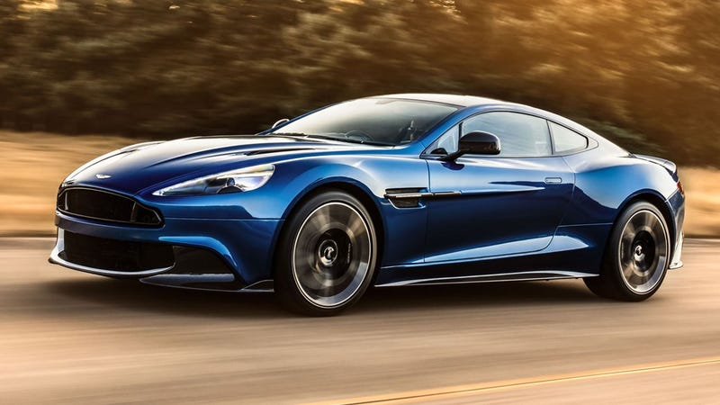 Aston Martin Sold The Tooling For The Old Vanquish To A Mystery - Old aston martin vanquish