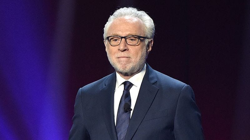 Illustration for article titled CNN Technicians Rush To Empty Wolf Blitzer's Urine Tank Midway Through Election Coverage
