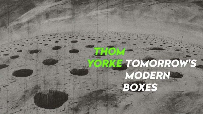 Illustration for article titled Thom Yorke just released a new album via BitTorrent