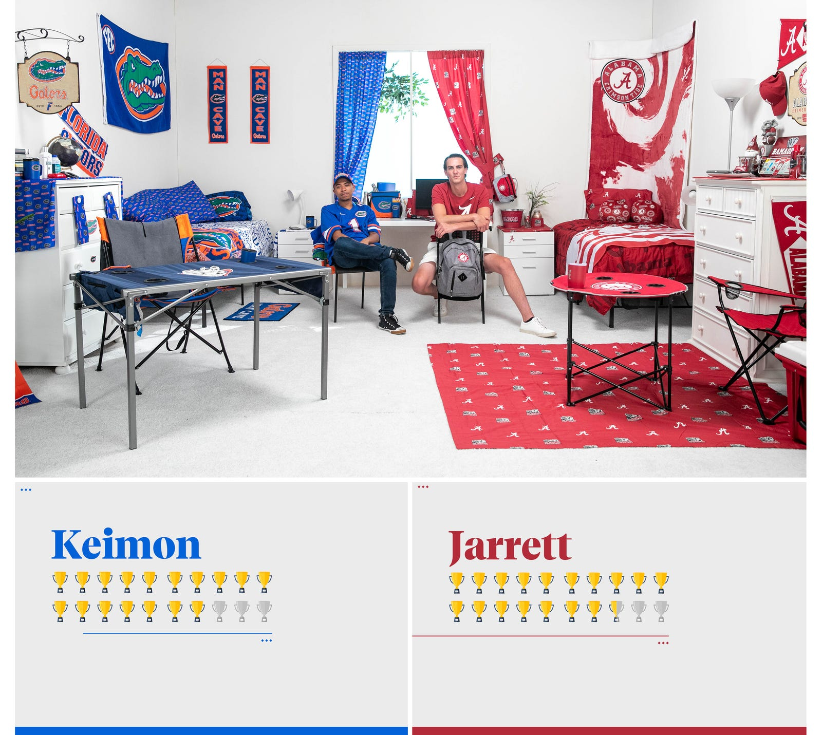We Challenged Two Guys To Decorate A Dorm Room Using Only