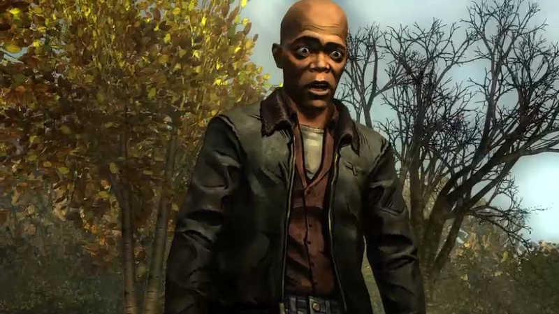 Illustration for article titled Here's How Samuel L. Jackson Looks in The Walking Dead