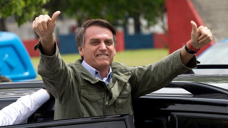 Brazilian President-elect Jair Bolsonaro.