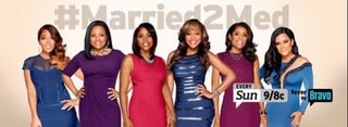 The cast of Married to MedicineBravo Screenshot