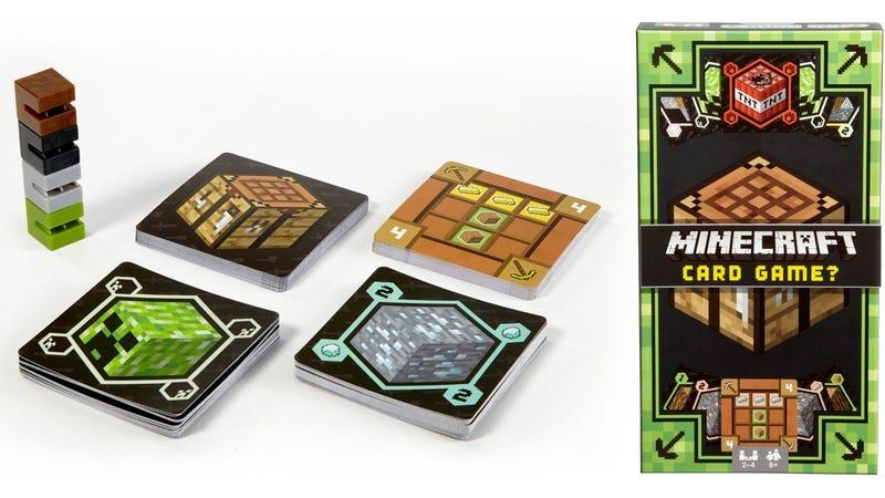 Minecraft Card Game, $11