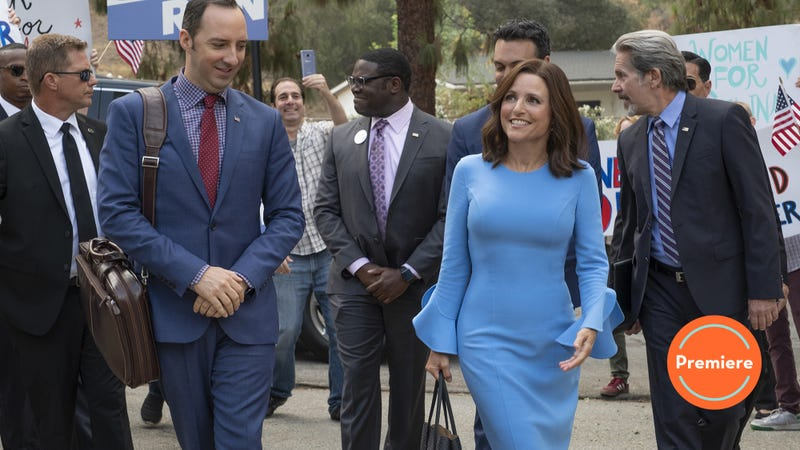 Illustration for article titled Veep's premiere gives fans exactly what they want: New. Selina. Now.