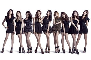Illustration for article titled If Girls' Generation Was 8-Bit