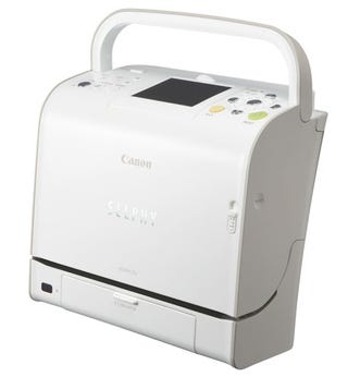 Illustration for article titled Canon's Selphy ES2 Photo Printer Can't Hold Your Lunch
