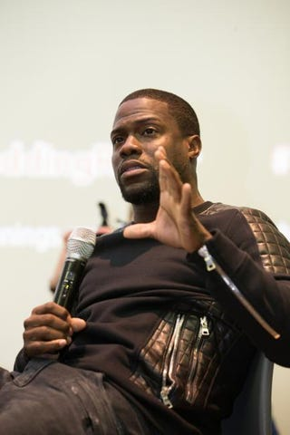 Kevin Hart attends a special screening of The Wedding Ringer at Syracuse University on Nov. 2, 2014, in Syracuse, N.Y.Brett Carlsen/Getty Images for Sony