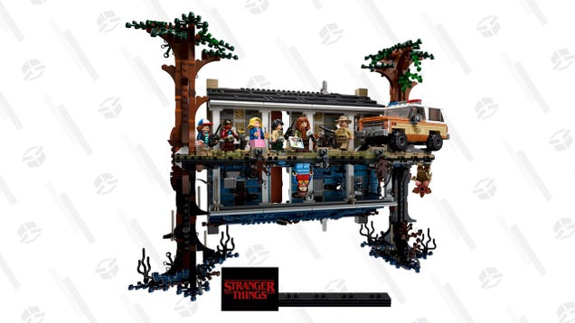 Get Trapped in The Upside Down and Preorder This Standing Stranger Things LEGO Set