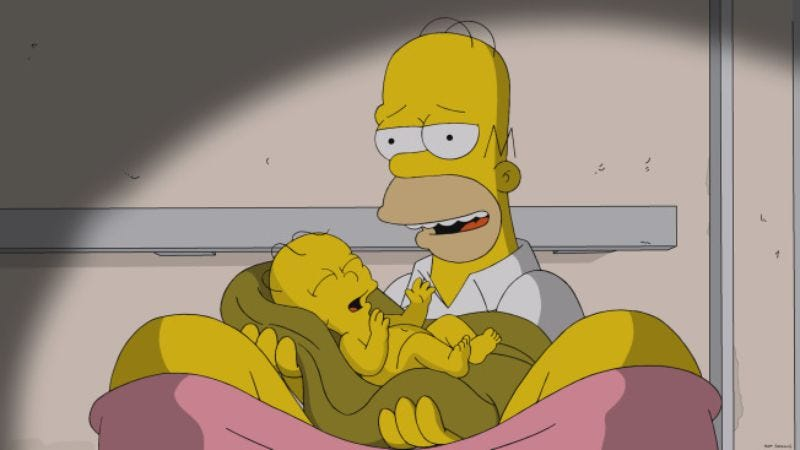 "Illustration for article titled The Simpsons: ""Labor Pains"""