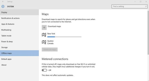 How to Download Offline Maps in Windows 10 | Lifehacker UK