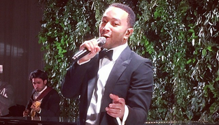 Illustration for article titled John Legend Sang 'All Of Me' at a Couple's Wedding