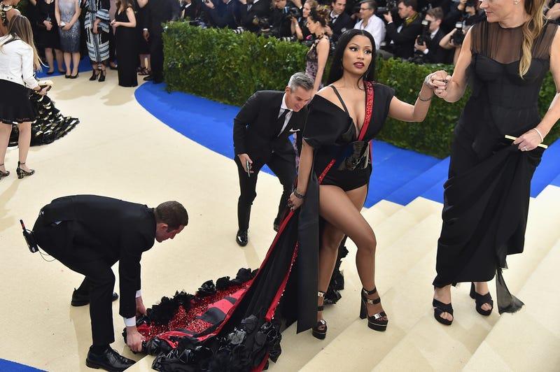 Nicki Minaj at the 2017 Met Gala