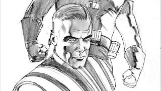 Illustration for article titled Darth Vader is one handsome Sith lord in Dark Horse's The Star Wars comic