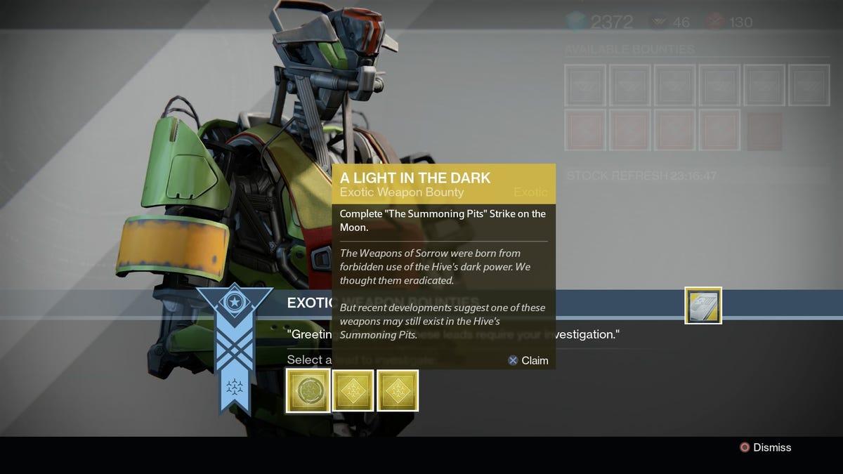 Destiny's 'Worst' Exotic Bounty Is Actually Brilliant