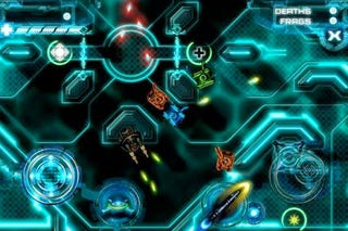 Illustration for article titled Tron For iPhone: Glorious Multiplayer Light Tanks, With More To Come