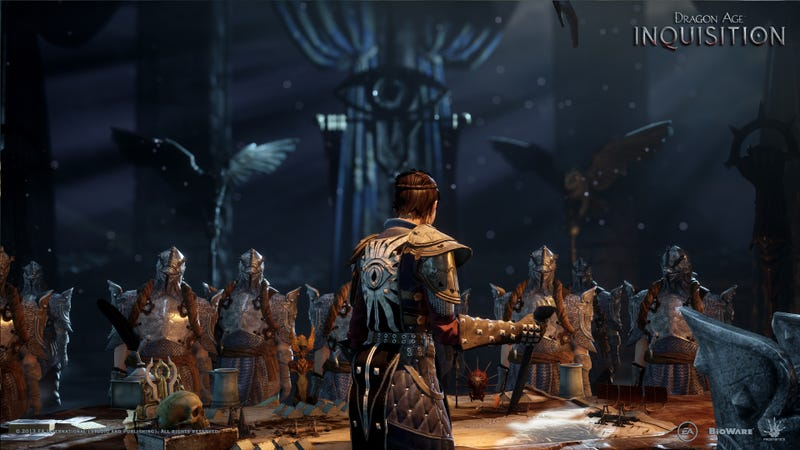 Illustration for article titled What Do You See In This Dragon Age: Inquisition Screenshot?