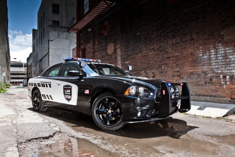 Illustration for article titled The Dodge Charger Police Car Is The Fastest American Police Car Ever