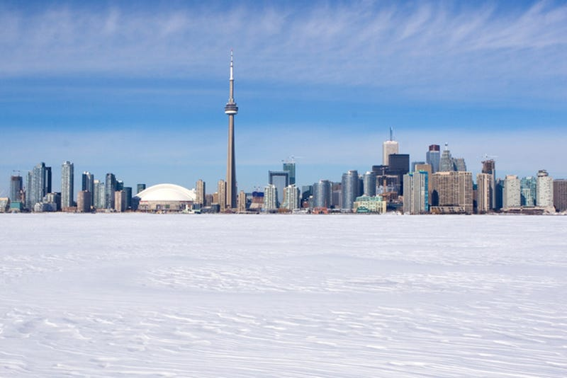 It Was So Cold in Canada, the Ground Exploded
