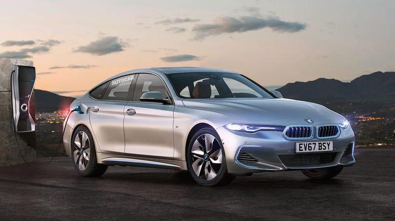 Concepto de lo que sería el BMW Serie 4 eléctrico. Autocar
