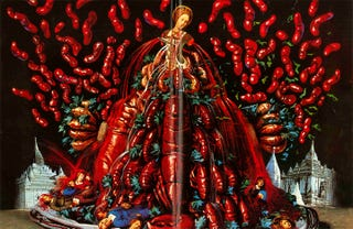 Illustration for article titled Salvador Dalí's Sensuous Cookbook Is As Nightmarish As You'd Imagine