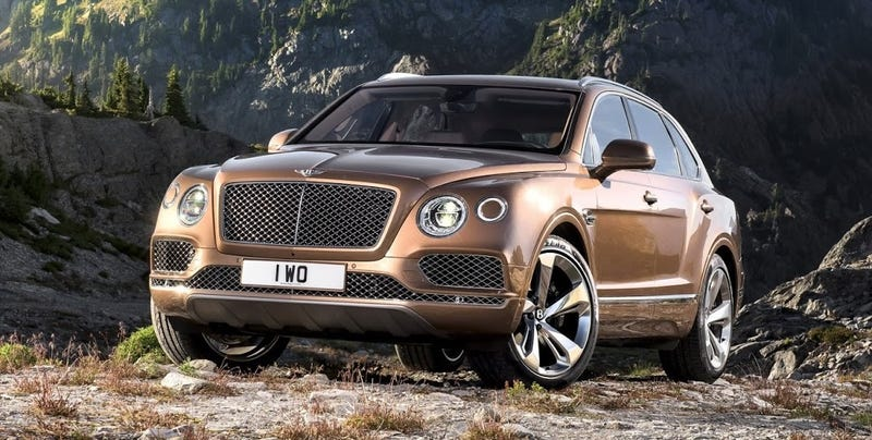 Illustration for article titled 2017 Bentley Bentayga: This Is It