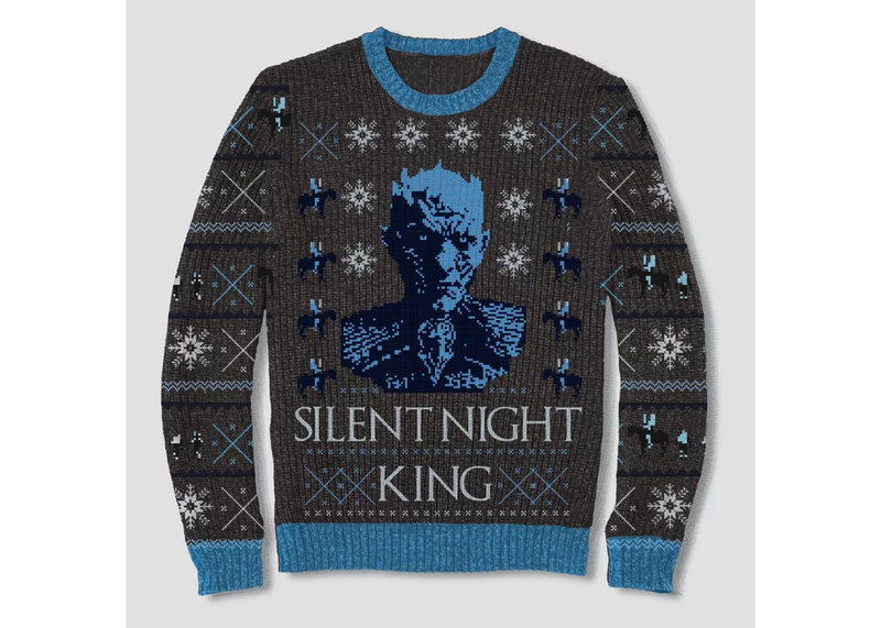 these game of thrones christmas sweaters are terrible and i love them so much gizmodo uk. Black Bedroom Furniture Sets. Home Design Ideas