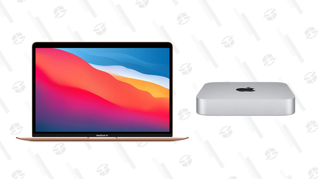 Apple's New M1-Powered Mac Mini and MacBooks Are All on Sale, Up to $100 off