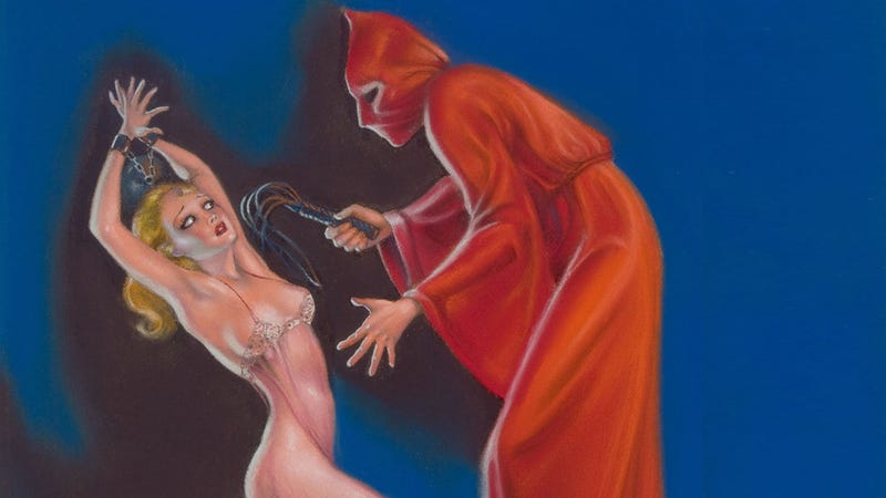 "Illustration for article titled The Woman Whose Pulp Art Was Too Sexy for ""Public Decency"""