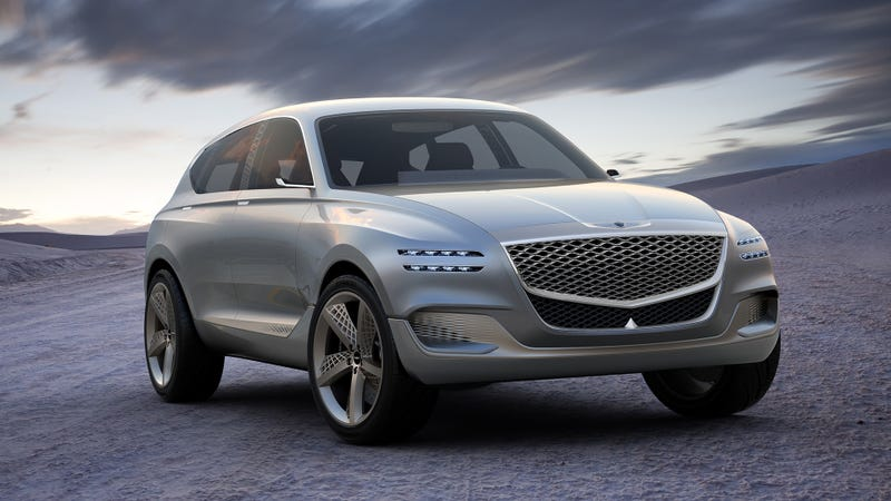 The Genesis GV80 fuel cell concept SUV, which debuted in 2017.