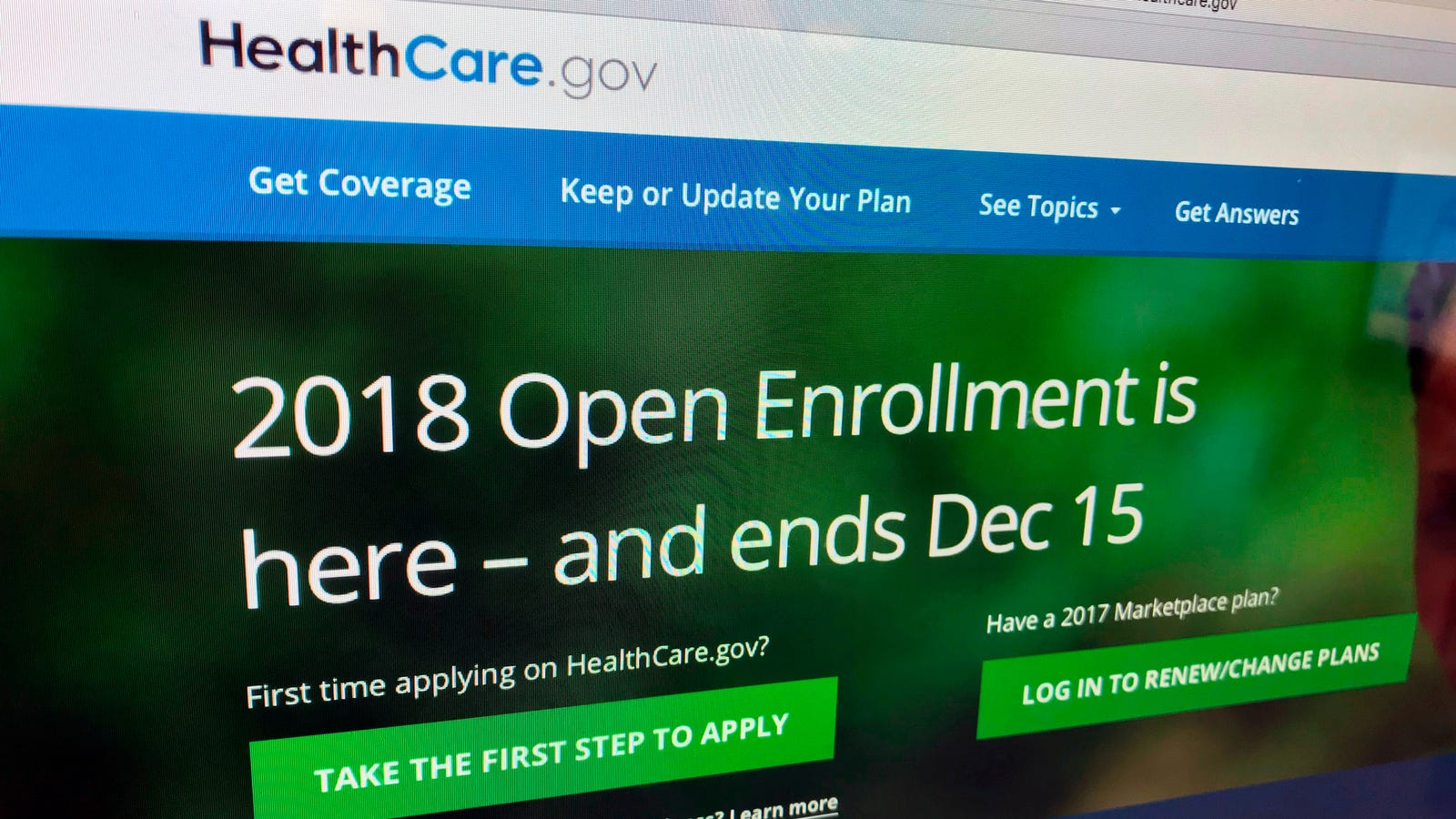 HealthCare.gov Portal Suffers Data Breach, Trump Officials Say