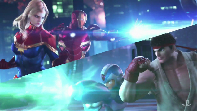 marvel vs capcom infinite is coming in 2017