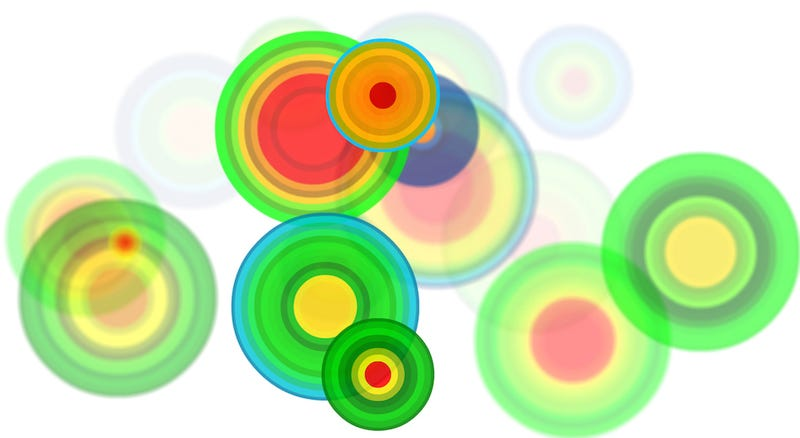 Illustration for article titled Artists Turn Tectonic Activity Into Surprisingly Soothing Data Visualizations