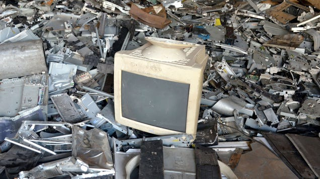 Congrats, Humanity, We Trashed a Record Number of Electronics Last Year
