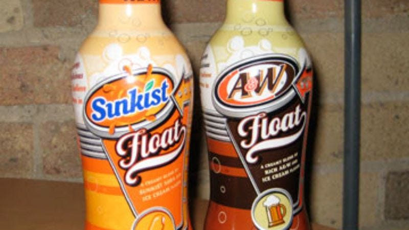 Illustration for article titled Taste Test: A&W Float and Sunkist Float