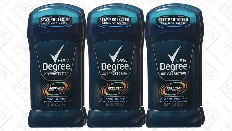 6-Pack Degree Deodorant | $9 | Amazon | Clip the $2.50 coupon
