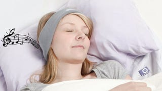 Illustration for article titled SleepPhones Let You Listen to Music Through a Comfortable, Pillow-Friendly Headband