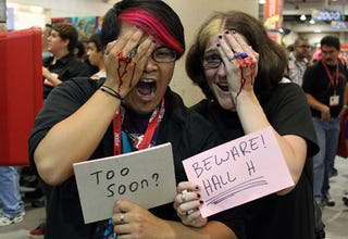 Illustration for article titled A Comic-Con Cosplay Too Soon?