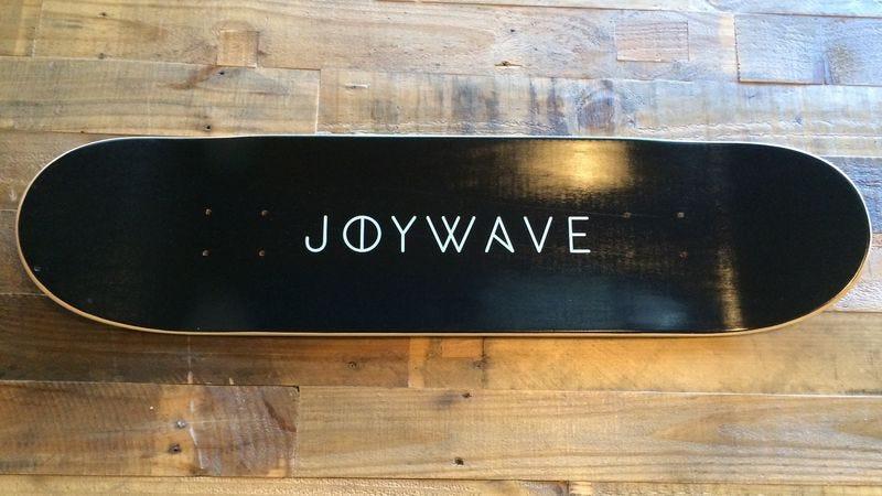 Illustration for article titled Win a limited edition Joywave skate deck