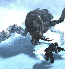 Illustration for article titled Lost Planet Movie Will be Starship Troopers On Ice