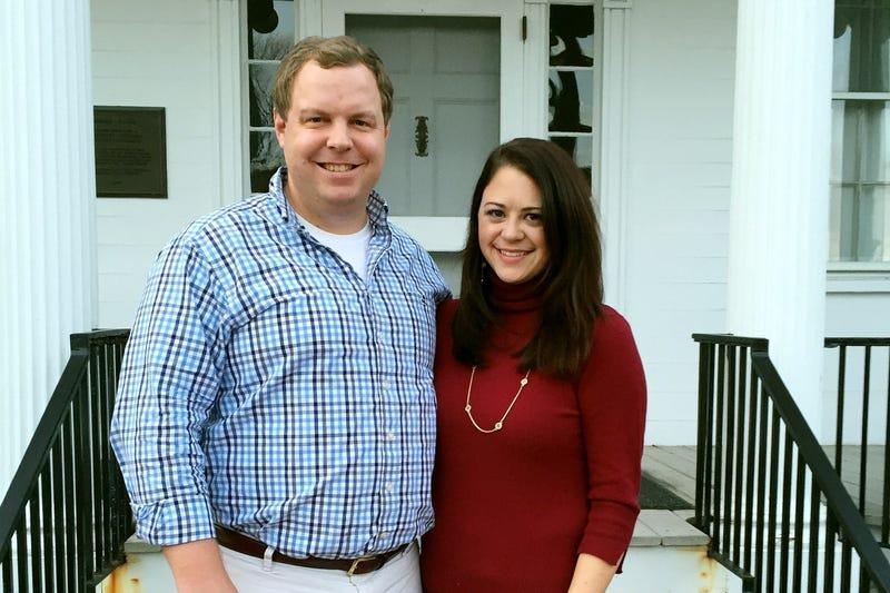 David Sorensen and Jessica Corbett (Jessica Corbett via the Washington Post)